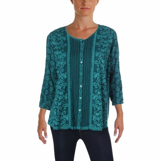 Johnny Was Women's CLOUDIO Flare Blouse