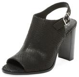 Peep-Toe Slingback Sandal