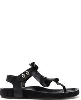 Isabel Marant Leather Leakey Sandals