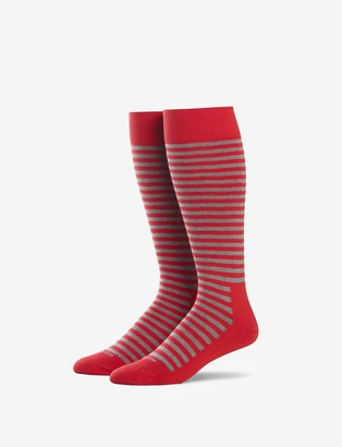 Tommy John Tommyjohn Sailor Stripe Stay-Up Dress Sock