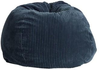 Pottery Barn Teen Midnight Chamois Bean Bag Chair