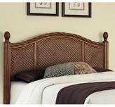 Beachcrest Home Dessie Panel Headboard Size: King/California King, Color: Cinnamon