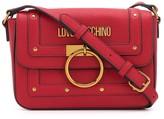 Love Moschino Stud-Embellished Crossbody Bag