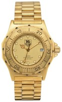 Tag Heuer 3000 934.413 Gold Plated with Gold Dial 34.5mm Mens Watch