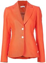 Altuzarra two button blazer - women - Linen/Flax - 44