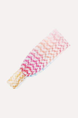 Missoni Kids - Crochet-knit Headband - Pink