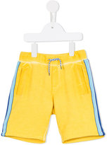 Little Marc Jacobs contrast side stripe shorts