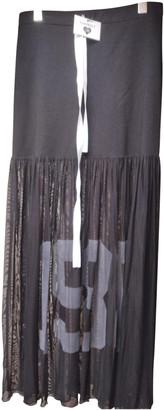 Twin-Set Twin Set Black Cotton - elasthane Skirts
