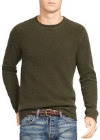 Polo Ralph Lauren Cashmere Waffle Knit Crewneck Sweater - 100% Bloomingdale's Exclusive