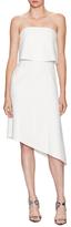 Nicholas Ponti Overlay Top Asymmetrical Dress