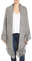 Hinge Women's Mixed Stitch Triangle Wrap