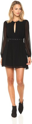 BCBGeneration Women's Dress with Blouson Sleeves