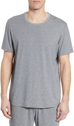 Daniel Buchler Feeder Stripe Cotton Blend T-Shirt