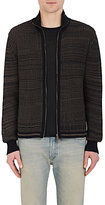 Maison Margiela Men's Cotton-Blend Zip-Front Cardigan
