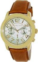 Michael Kors Women's Mercer MK2251 Gold Leather Quartz Watch