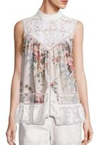 Zimmermann Laced Aerial Smock Top