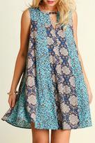 Umgee USA Flower Beauty Dress