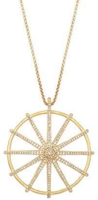 Dean Davidson Maiko 22K Goldplated & Cubic Zirconia Umbrella Pendant Necklace