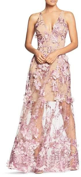 8d34a15b Dress the Population Purple Evening Dresses - ShopStyle