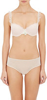 Heidi Klum HEIDI KLUM WOMEN'S BICE LACE BALCONETTE BRA-PEACH, LIGHT GREEN SIZE 36 DCP