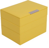 Wolf Mini Stackable Tray Set, Yellow