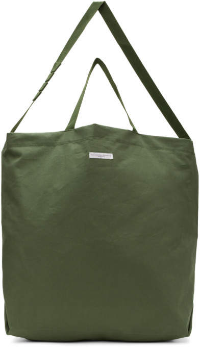 Engineered Garments Green Carry All Tote