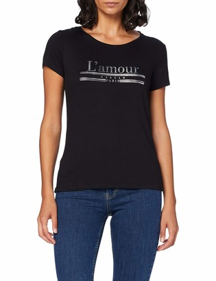 Morgan Women's Tshirt Message Amour Dquiero T-Shirt