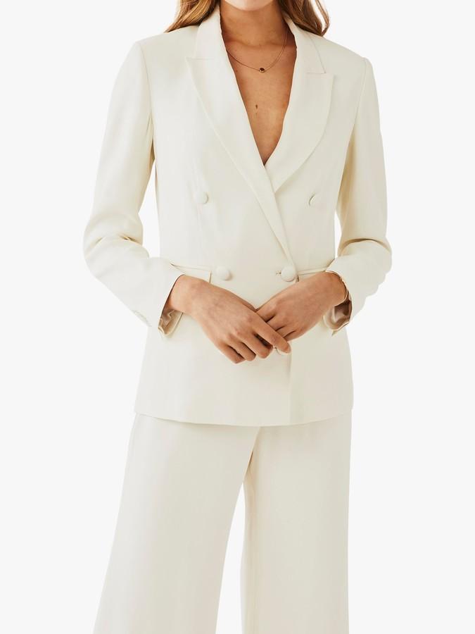 Ghost Viola Wedding Suit Jacket, Cloud Dancer