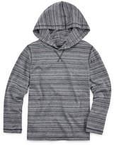 Arizona Long Sleeve Hooded Henley Shirt - Preschool Boys
