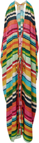 Lenny Niemeyer Striped Fringed Cover Up