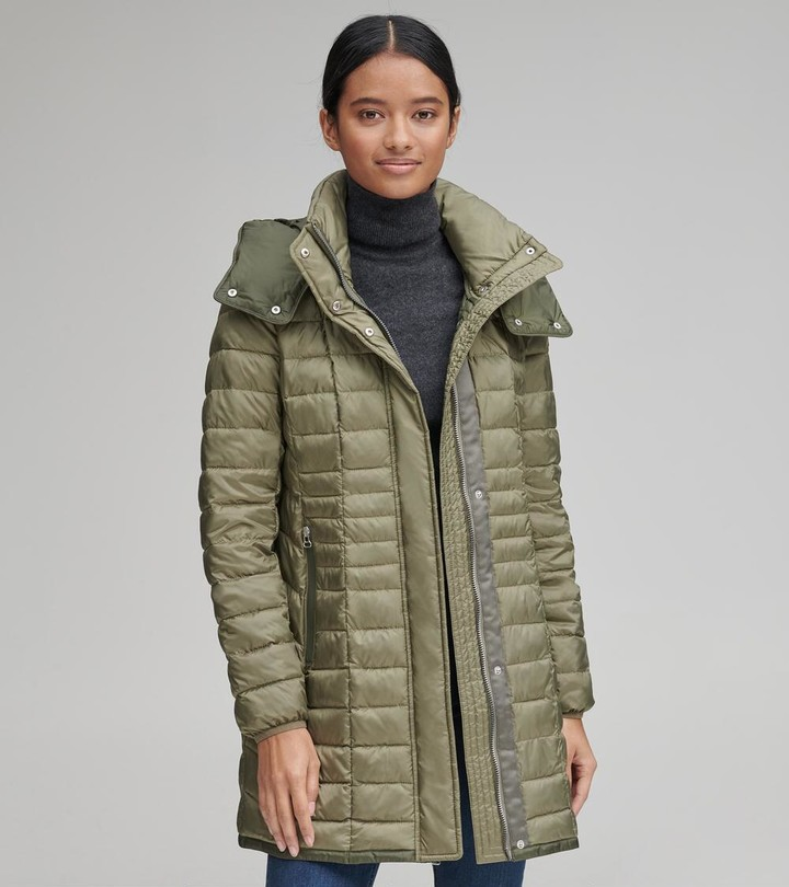 Andrew Marc MARBLE LIGHTWEIGHT PACKABLE SYNTHETIC DOWN