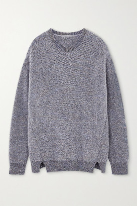 Stella McCartney Sequin-embellished Knitted Sweater - Gray