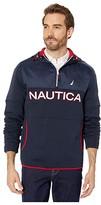Nautica Color Blocked Sweater (Navy) Men's T Shirt