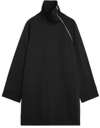 Arket Oversized Sweatshirt Dress