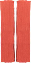 Isolde Roth Plus Size Rib knitted arm warmers