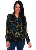 Romeo & Juliet Couture Printed Woven Shirt