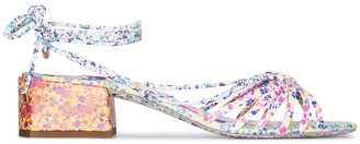 Sophia Webster Laurellie 40mm floral print sandals