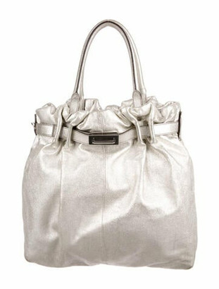 Lanvin Leather Tote Gold