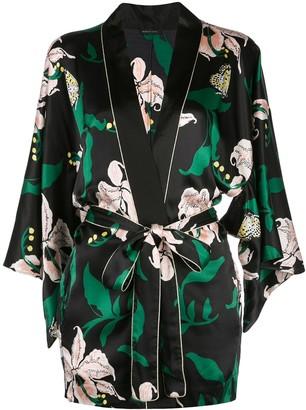 Morgan Lane Nia floral print robe
