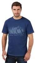 Maine New England Big And Tall Navy 'mid Coast' Big And Tall T-shirt