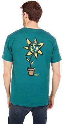 Vans Planted Short Sleeve Tee (Jasper) Men's Clothing