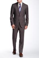 HUGO BOSS Two Button Notch Lapel Wool Suit