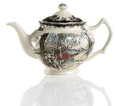 "Johnson Bros. Friendly Village"" Teapot, 9.5"" x 6.5"""