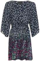 Thistle print dressing gown