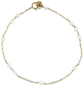 Laura Lee Jewellery Beaded Grey Pearl Sleeper Bracelet