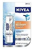 Nivea Lip Care A Kiss Of Recovery Medicated Sp15 .17 oz. (Pack of 6)