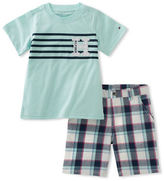 Tommy Hilfiger Two-Piece Tee and Shorts Set