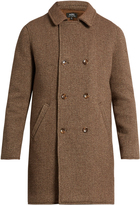 A.P.C. Time double-breasted wool-blend coat