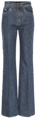 Etro Mid-rise flared jeans