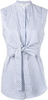 Helmut Lang sleeveless striped shirt - women - Cotton - XS